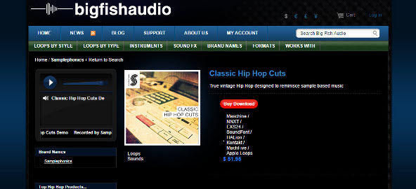 Big Fish Friday: Samplephonics Classic Hip Hop Cuts