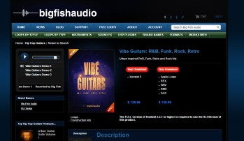 Big Fish Friday: Vibe Guitars