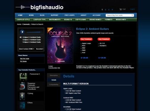 Big Fish Friday: Eclipse 2 Ambient Guitars