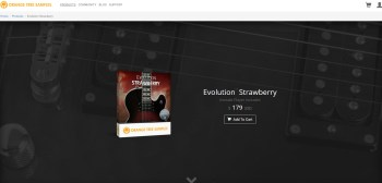 Review: Orange Tree Samples Evolution Strawberry Electric Guitar for Kontakt
