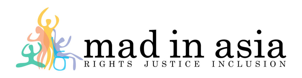 Mad in Asia Logo - Sub heading rights justice inclusion