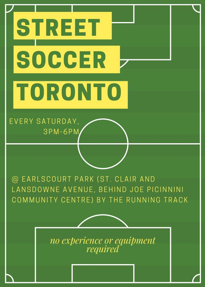 Image of a soccer field - Info in text.