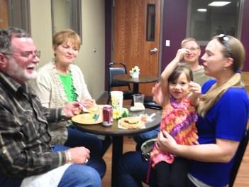 Dinner for Six Feb 2014 | Source Bible Class | 12