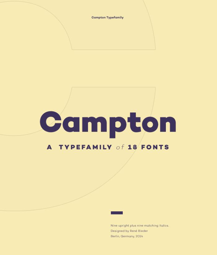 Campton Font Download