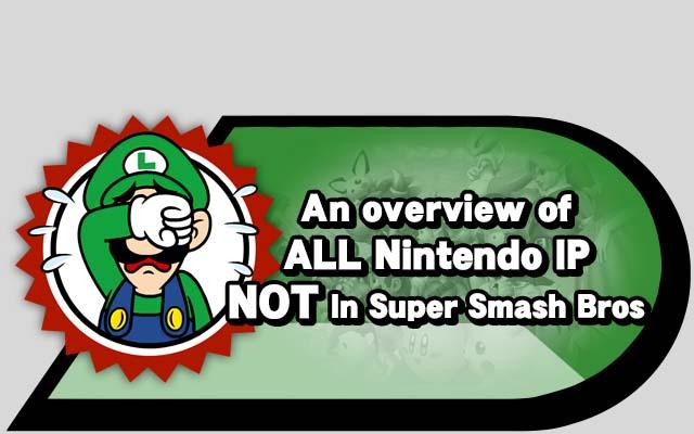 Nintendo Ip NOT Smash