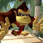 It's Donkey Kong. Loves bananas. He's more muscular now.