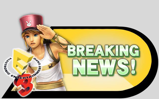 breaking news E3
