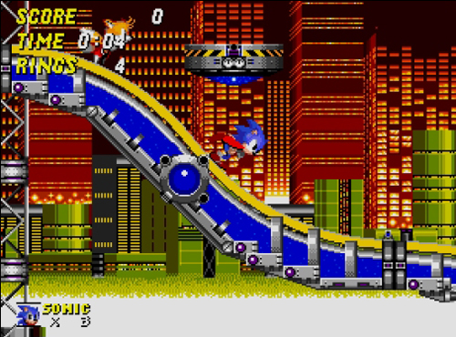 The fourth console generation was one where style really got big in games, and Sonic was at the forefront of that.