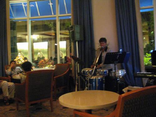 A Nightcap at the Hilton Bar