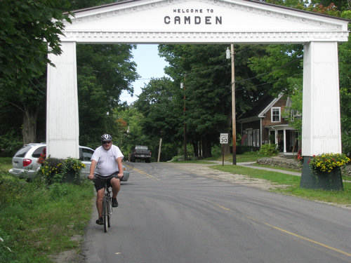 Touring Camden, Maine