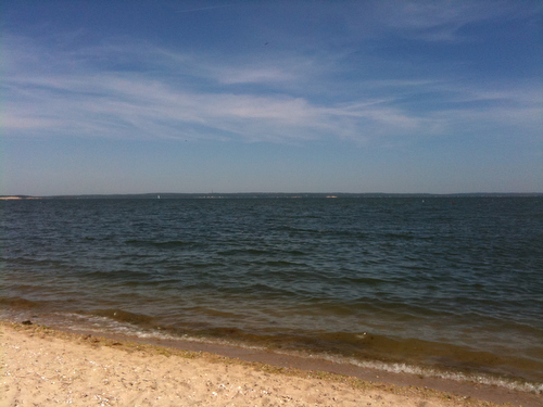 Lettie's Beach on the North Fork