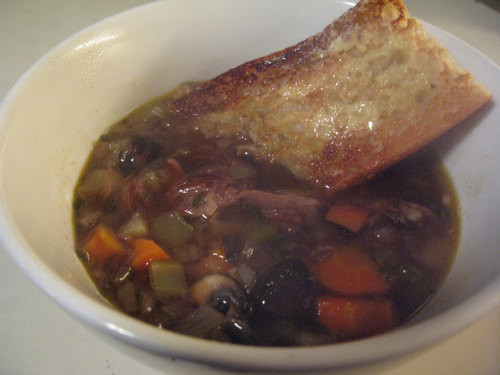 Beef and Barley Soup Recipe