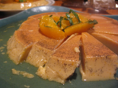 Recipe: Boozy Orange-Vanilla Flan