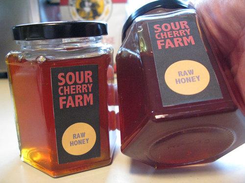 ... Jarred Honey, Sour Cherry Farm Debuts a New Label | Sour Cherry Farm