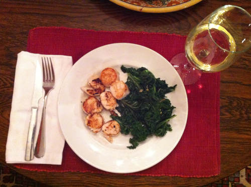 Cooking for One: Saturday Night Supper