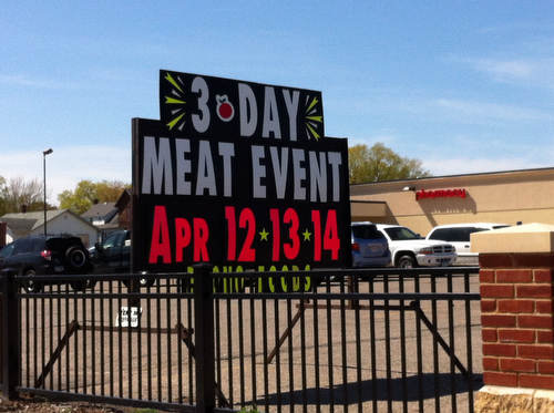 A Three-Day Meat Event