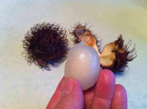 Whole Foods Has Rambutans!