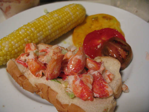 Lobster Rolls from Red Hook Lobster Pound