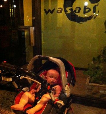 Saturday Night at Wasabi