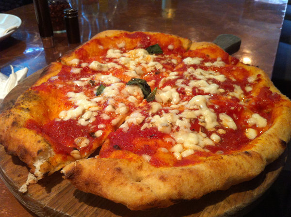 Fried pizza at Don Antonio by Starita.