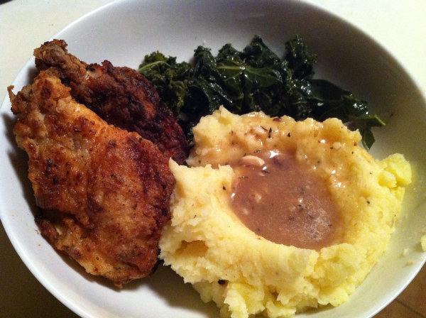 Shannon's Fried Chicken, Our Mashed Potatoes, One Fun Night
