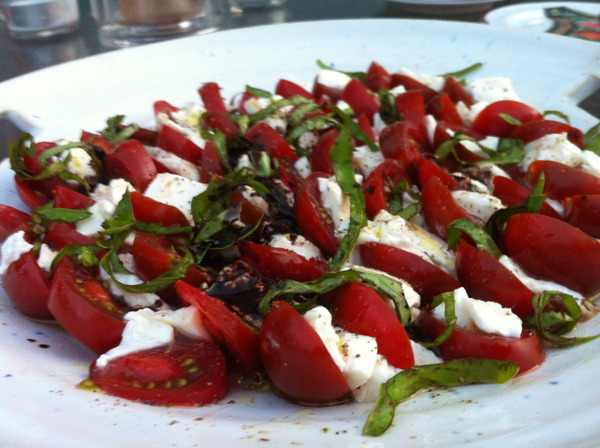 The Season's First Caprese Salad!