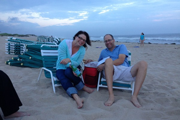 Magic Hour at the Beach in Amagansett