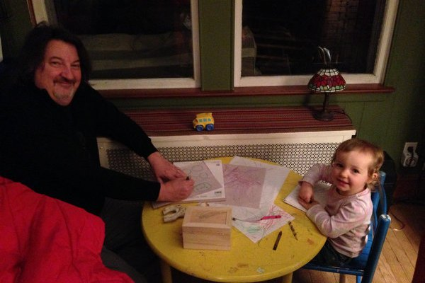 Coloring with Samantha