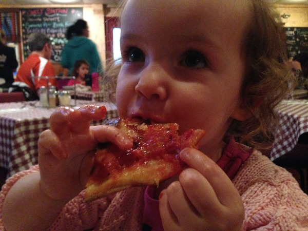 Pizza at Mountain House in Sparkill