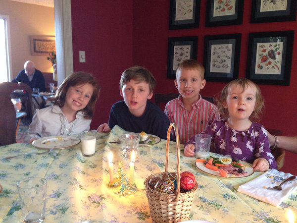 Easter Sunday Supper!