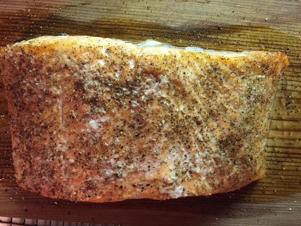 How to Make Cedar Plank Salmon in the Oven