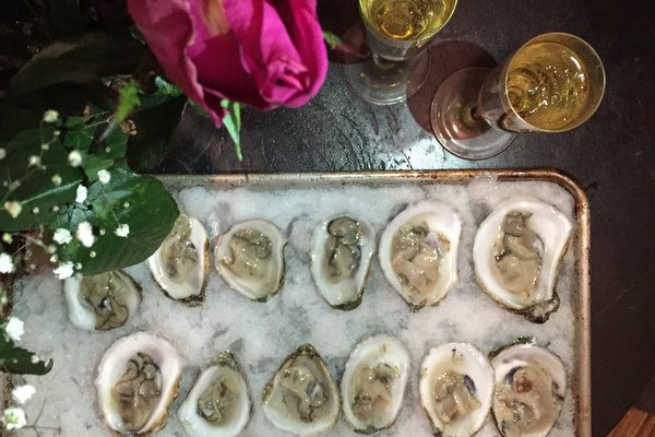 Oysters for Valentine's Day