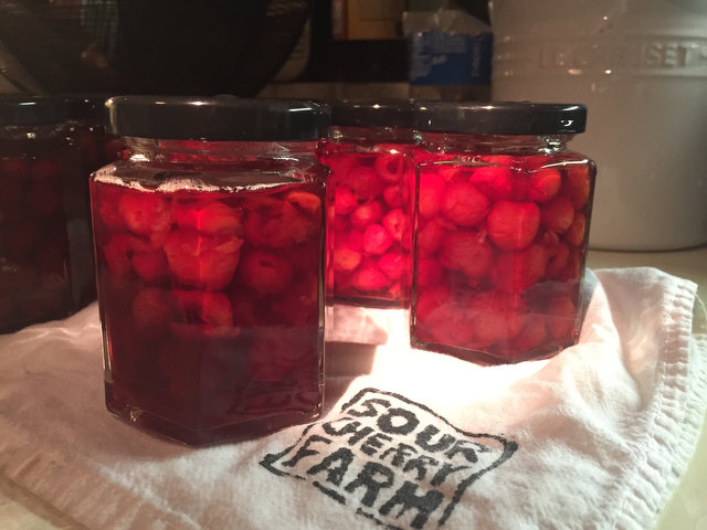 Sour Cherry Preserves Recipe