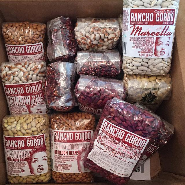 Rancho Gordo Beans!