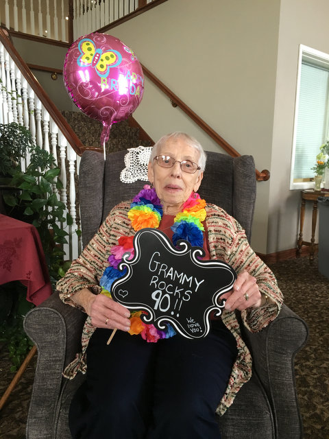 Doris Turns 90!