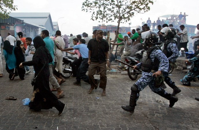 A Presidential Power Struggle in Maldives