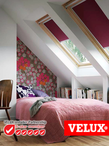 South cheshire roofing roof lights in cheshire velux by for Velux cladding kit