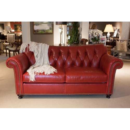 Medium Crop Of Red Leather Sofa