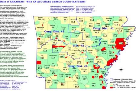 Map Of Southern Arkansas - Arkansas on the us map