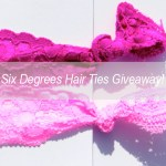 Six Degrees Hair Ties Giveaway