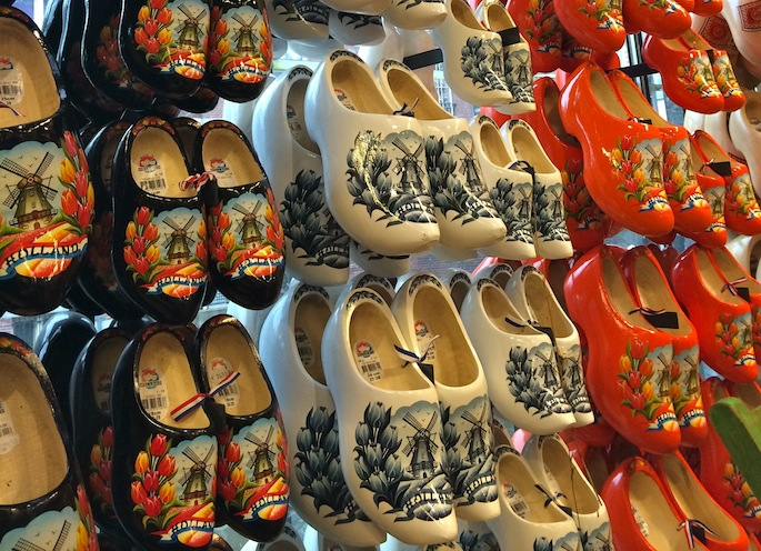 Things to do in Amsterdam: Shop for wooden shoes in the markets #amsterdam