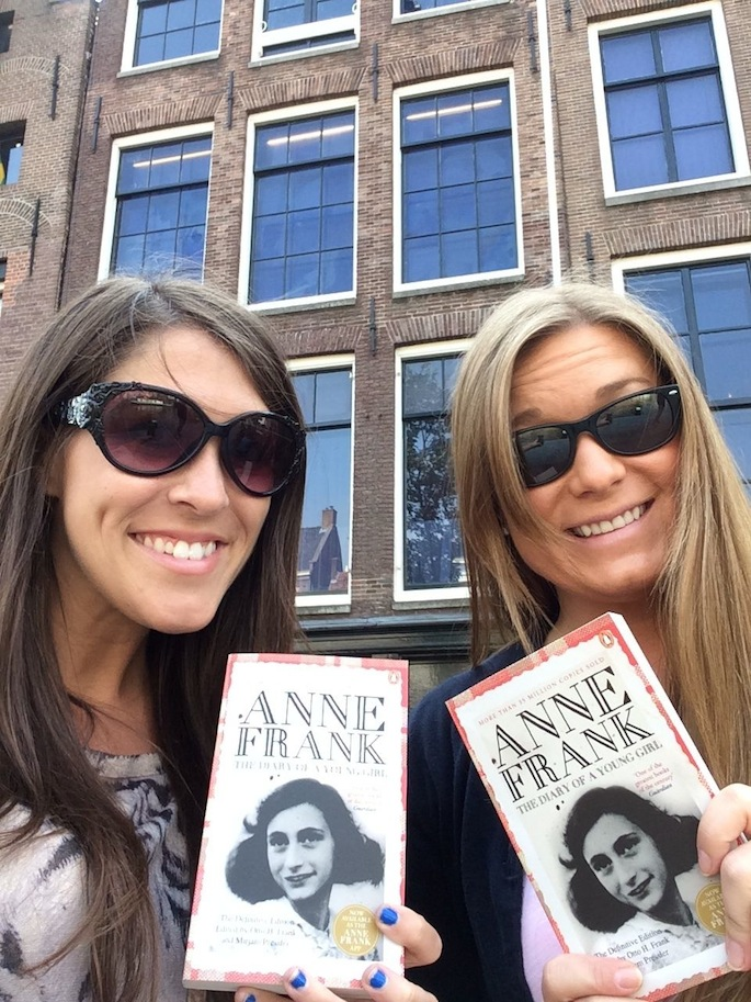 Things to do in Amsterdam: Visit Anne Frank's house #amsterdam