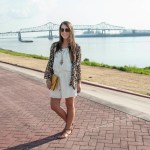 Callin' Baton Rouge | LSU Gameday Outfit with Animal Prints