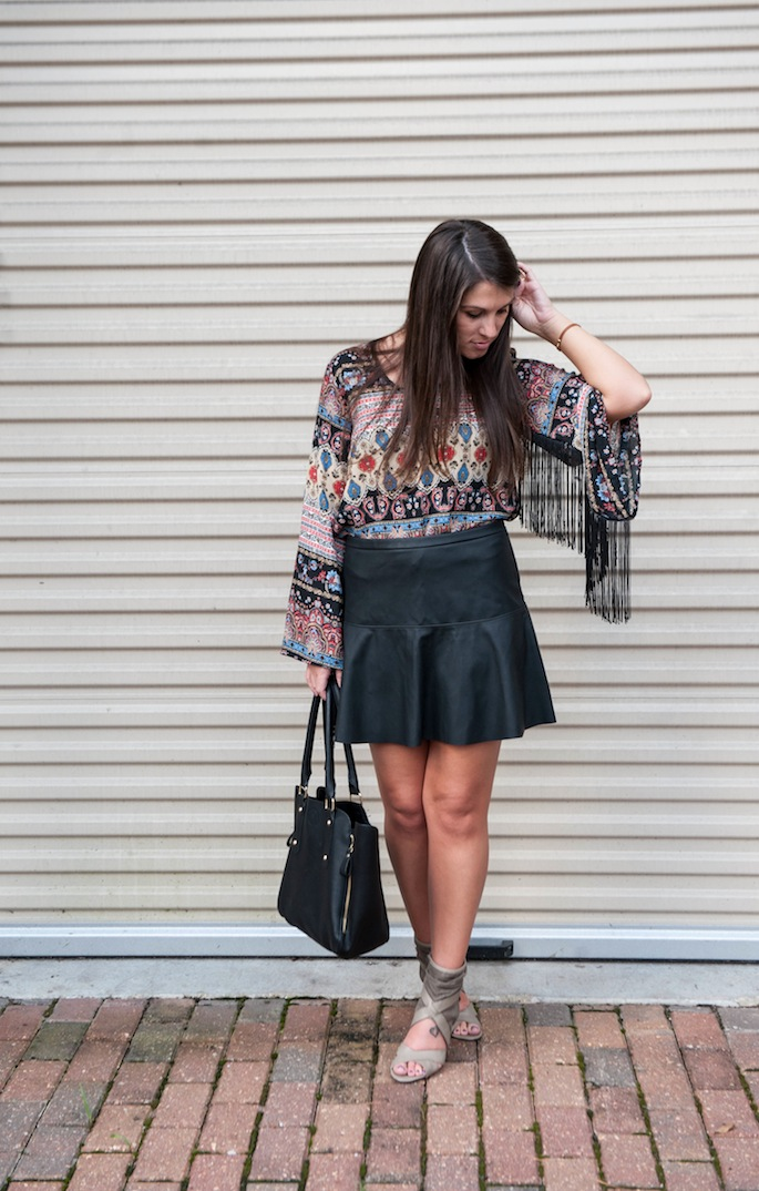 Leather Mini Skirt | Southern Flair