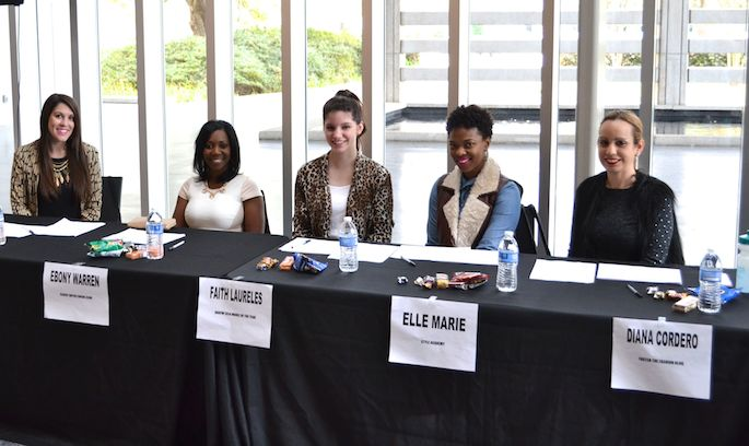 Judges at the OneofaKind Baton Rouge Fashion Week Model Search 2015