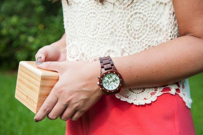 This JORD wooden watch is the perfect earthy summer accessory