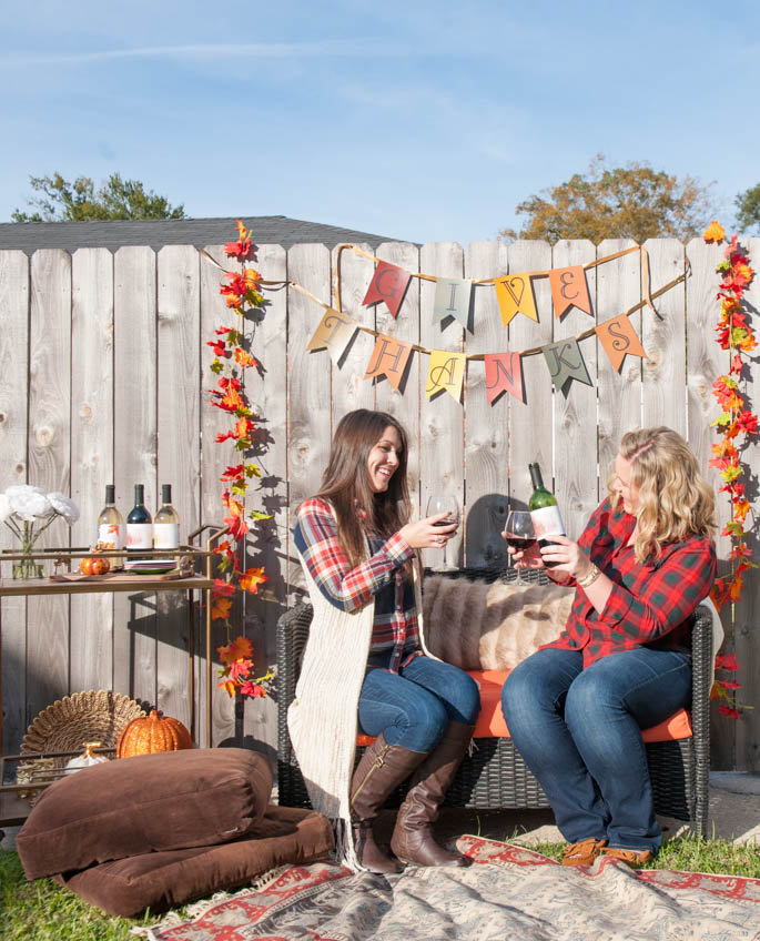 Celebrating Friendsgiving with Southern Flair and Blue Lemon Co