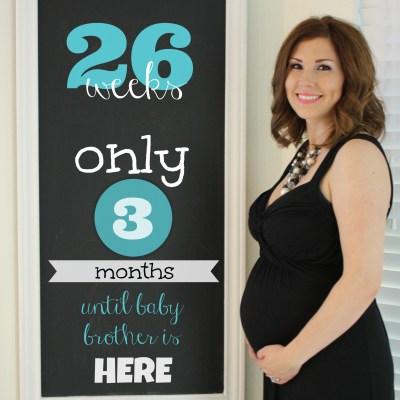 Bump Update : 21 – 26 weeks