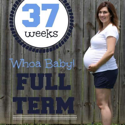 37 Weeks Baby Bump Update  Southern Made Blog