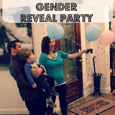 Confetti Balloon Gender Reveal Party
